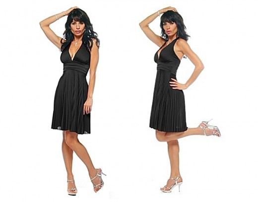 A Perfect Little Black Dress for Apple Shape - How to Find the Perfect Little Black Dress for You, by Rosie2010