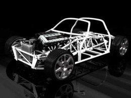 A race car derived chassis