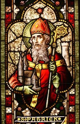 St. Patrick, the patron Saint of Ireland.