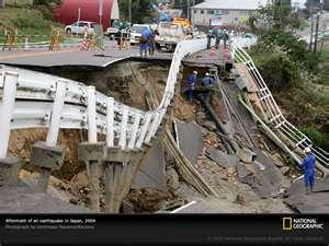 DEVASTATING EARTHQUAKE IN JAPAN