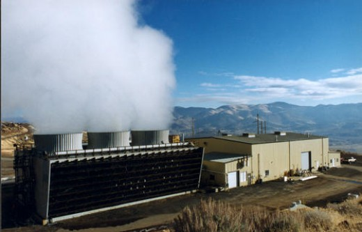 This is an actual geothermal plant in operation. It is much safer and greener than many of the alternatives.