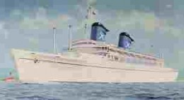 The Australis as when I sailed in her.
