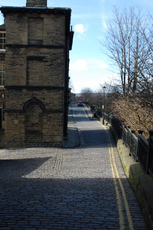 Street in Saltaire