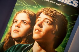 Ally Sheedy with Matthew Broderick in War Games
