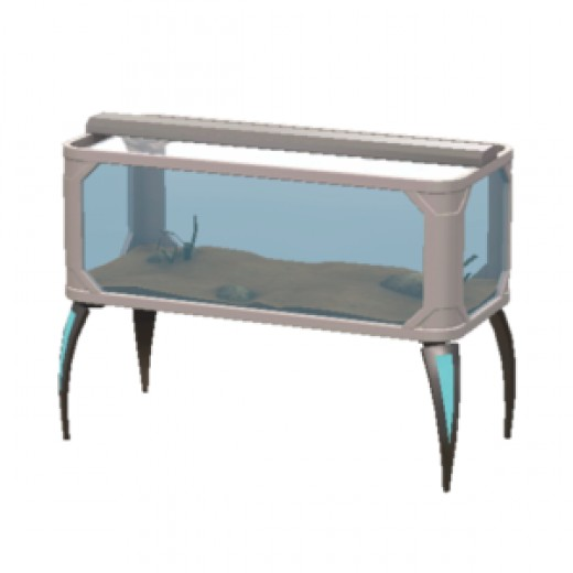 The Alpha Waves aquarium, available at the Sims 3 store.