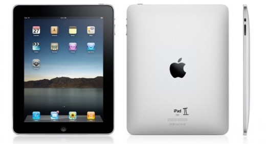 An ad for the iPad 2