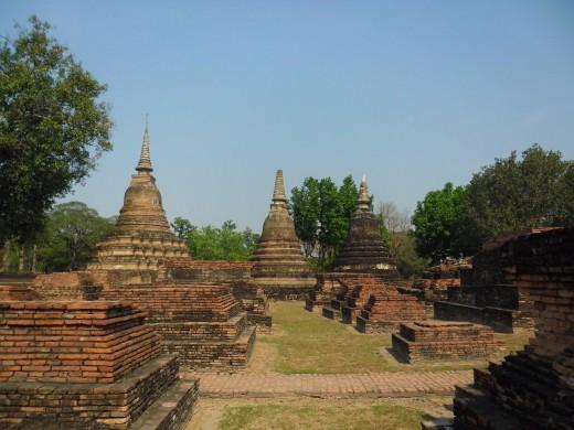 Ancient Sukhothai Ruins