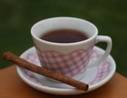 Cinnamon and green tea