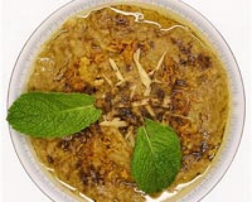 Haleem ready to eat with roti