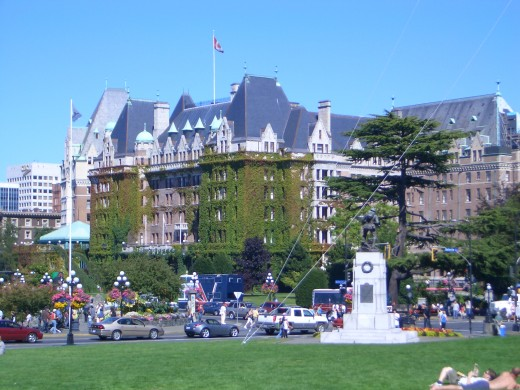 The Fairmont Empress Hotel, Victoria, British Columbia