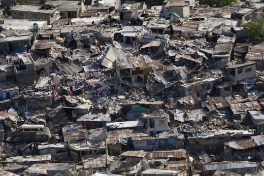 Haiti was devastated by a magnitude 7 earthquake in January 2010.
