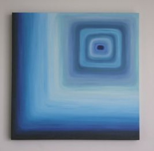 This is the first painting I ever sold in September 2005. (c) Azure11