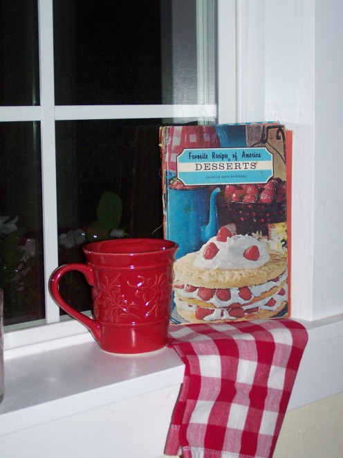 This book comes from a set of 4. Old Cookbook Favorites of Mine with Recipes