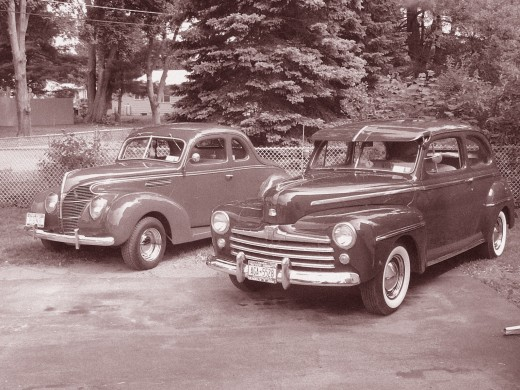 1939 & 1948 Fords