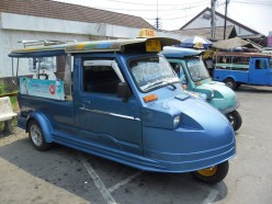 The Tuk Tuk, The Way To Get Around In Thailand