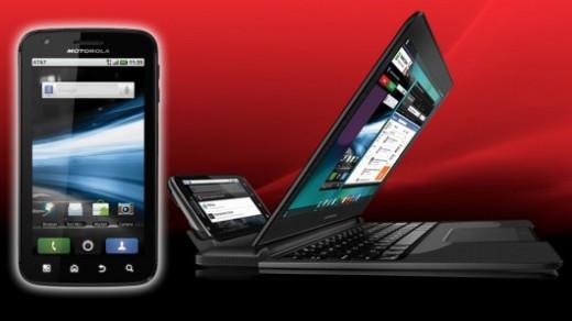 Motorola ATRIX 4G & Laptop Dock feature