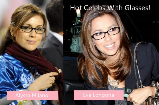 If these confident brunettes can pull off gorgeous looks with glasses, then so can I!