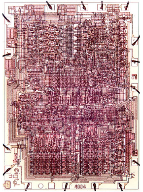 Intel 4004 the first microprocessor