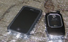 Cell phones and Radiant Barrier Foil
