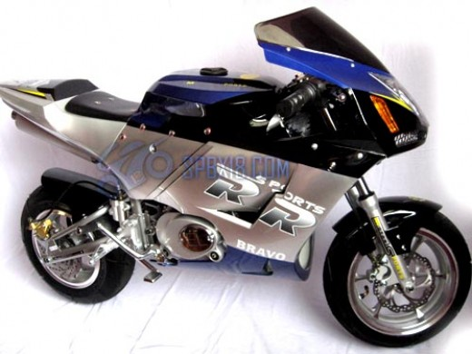 X18 Super Pocket Bike Side View
