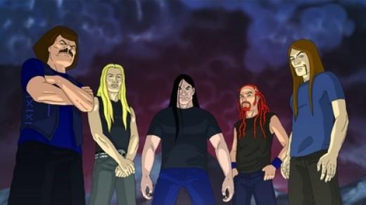 Death metal made larger than life.