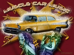Muscle Car Music - 57 Chevy, and Janis Joplin performance design