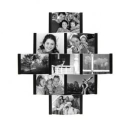 Collage Picture Frame for 4-by-6-Inch Photos, Black