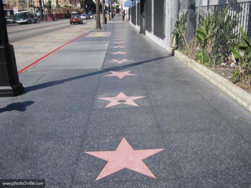 Hollywood Boulevard: Walk of Fame