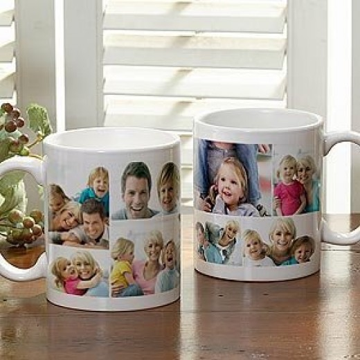 Photo Collage Personalized Coffee Mug