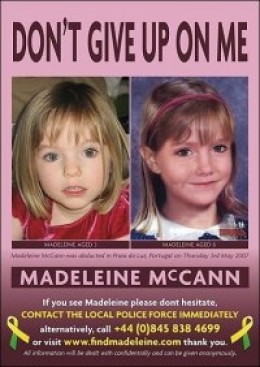 THE parents of missing Madeleine McCann have welcomed new information that suggests their daughter may be in the United States.