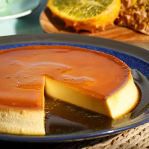 Caramel Cream Cheese Custard (Flan)