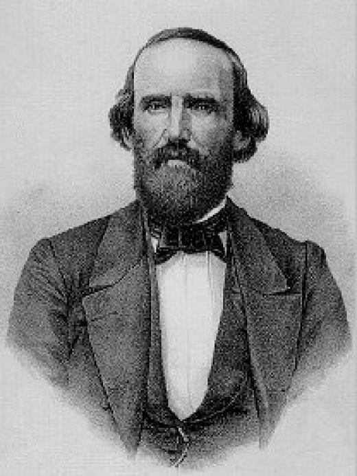 Brig. Gen. Benjamin McCulloch, CSA (18111862)
