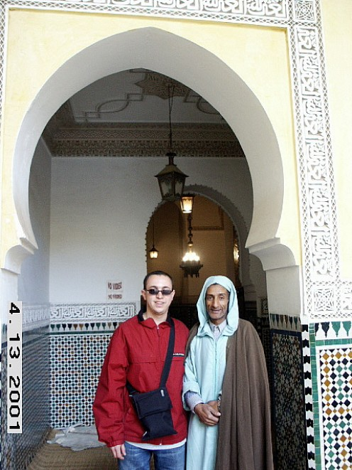Mausoleum of Moulay Ismail, Meknes, Morocco
