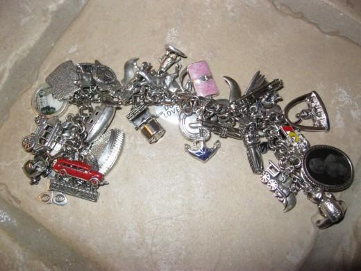 My Life Experience Charm Bracelet