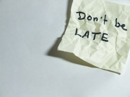 Do Not Be Late For Your Interview