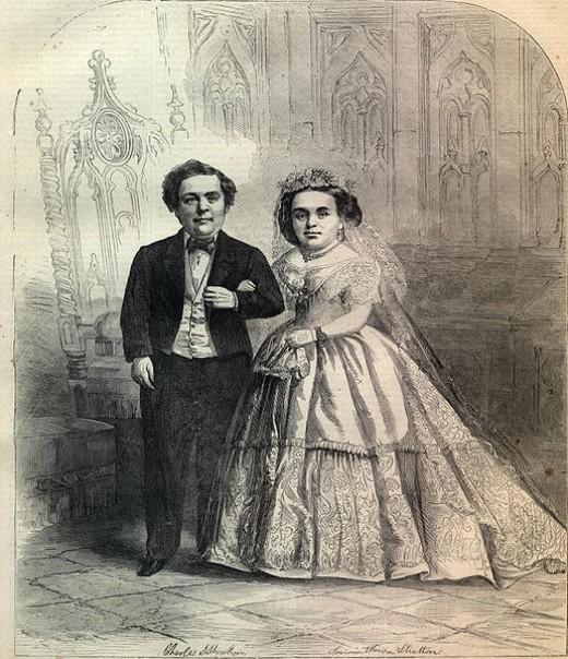 General Tom Thumb's wedding photo.