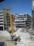 Parking ramp demolished