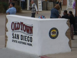 Visiting Historic Old Town in San Diego, California.