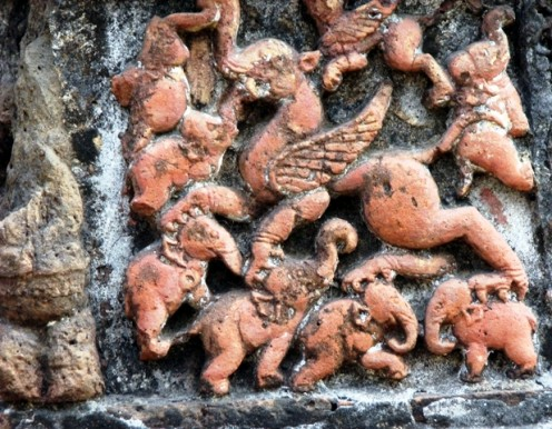 Very close to Griffin.Jor-Bangla Temple.