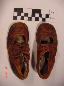 Sidney Goodwin's shoes