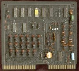 Busicom Calculator board with Intel 4004