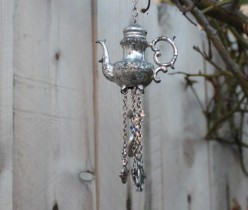 Cute little ones. This one is made from a silver teapot salt shaker.