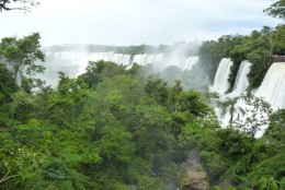 Iguazu Falls on the Argentinean side