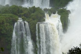 One tiny section of Iguazu Falls