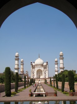 Bibi-ka-Makbara-- the Taj Mahal of South India