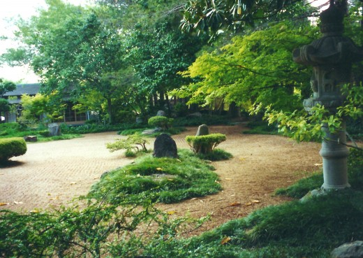 Another view of the Garden of Peace.