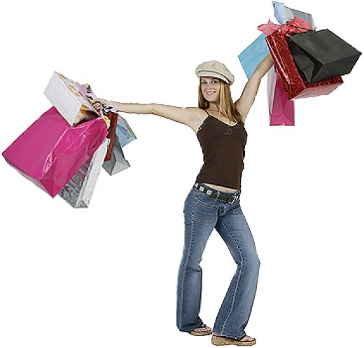 Sweat Out Your Shopping Passion!