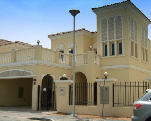 There are some lovely family villas in Dubai