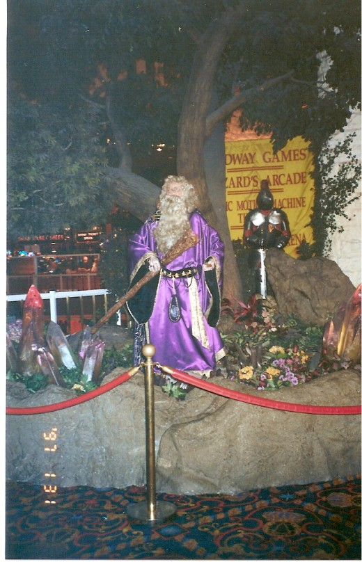 Merlin at Excalibur Hotel