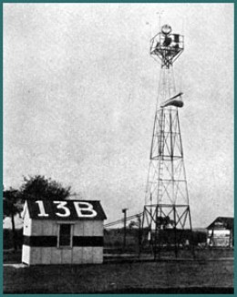 BEACON TOWER FOR LIGHTED AIRWAYS, 1930s
